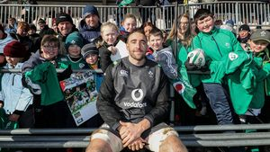 Ireland Open Training Session At Buccaneers RFC, Dubarry Park, Athlone, Thursday, February 15, 2018