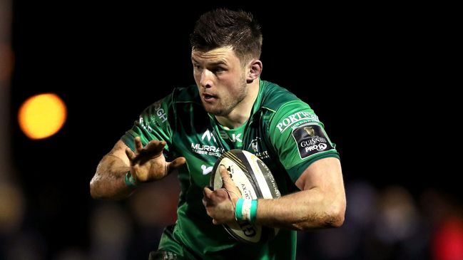 Connacht back rower Eoghan Masterson
