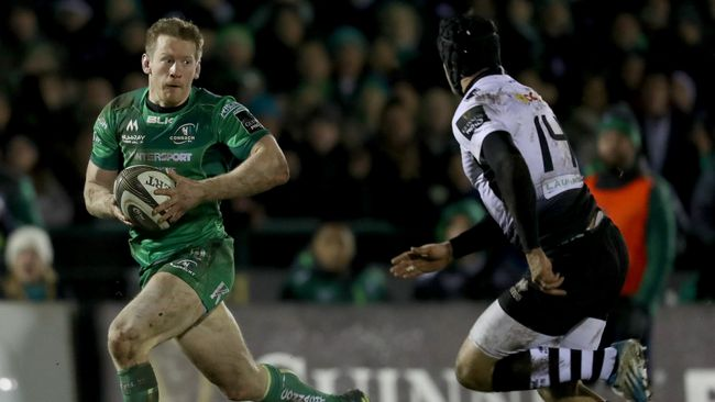 Griffin Set For 100th Cap In Connacht's Clash With Dragons