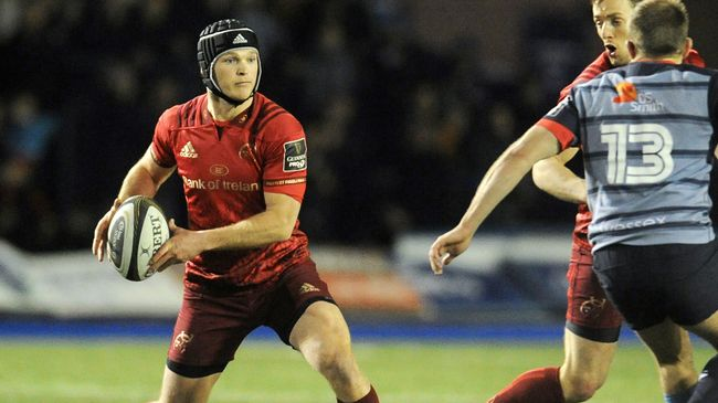Bleyendaal And O'Callaghan To Start For Munster