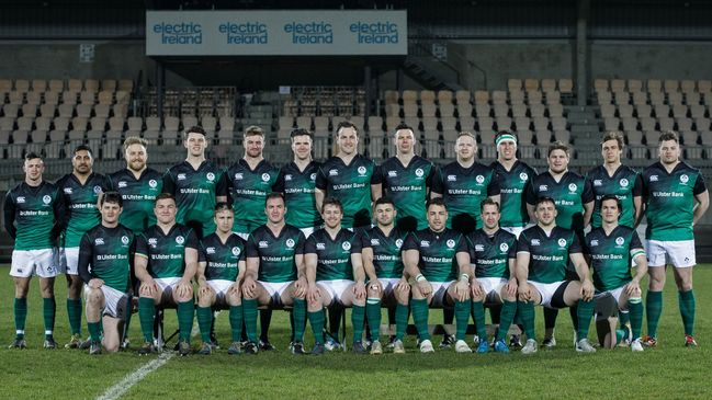 The Ireland Club XV squad