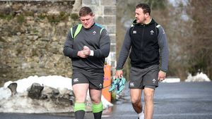 Ireland Squad Gym Session At Carton House, Maynooth, Co. Kildare, Tuesday, March 6, 2018