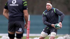 Ireland Squad Training At Carton House, Maynooth, Co. Kildare, Thursday, March 8, 2018