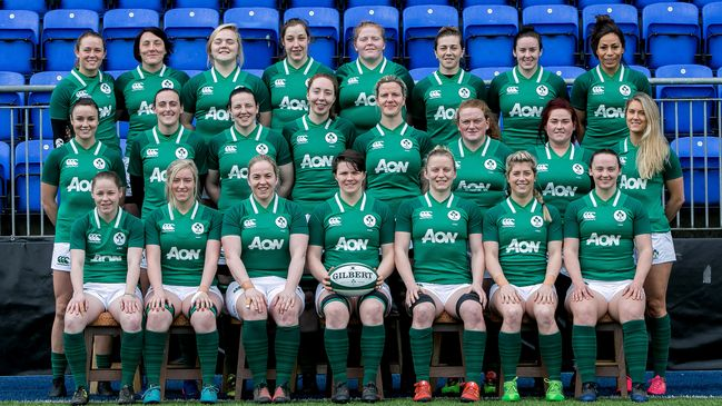 The Ireland Women's matchday squad