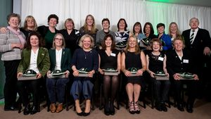 IRFU Caps Ceremony For Ireland Women's Players (1993-2006), Aviva Stadium, Sunday, March 11, 2018