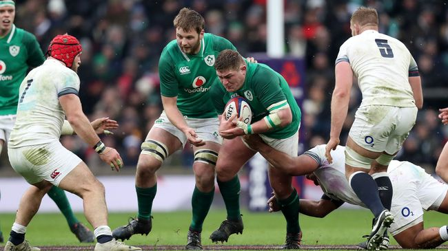 NatWest 6 Nations Match Stats: England 15 Ireland 24