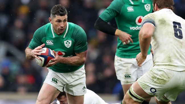 IRFU Confirm Rob Kearney Contract Extension Up To World Cup