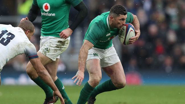 It's Full Steam Ahead For Kearney And Ireland's Grand Slam Brigade