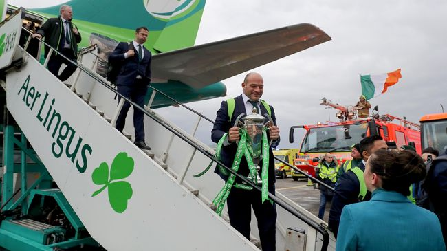 Aer Lingus Extends Award-Winning Irish Rugby Sponsorship