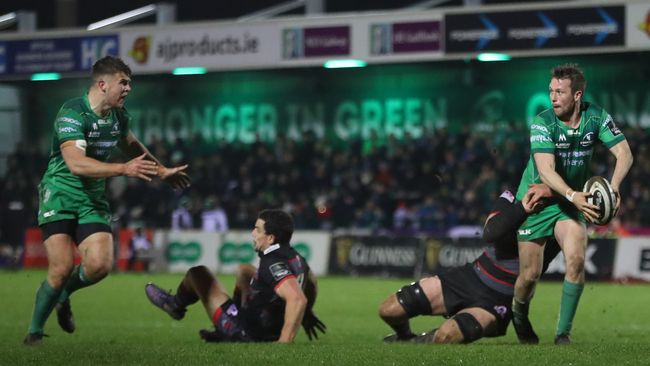 Butler, Carty And Farrell In The Running For Connacht Fans' Player Of The Year Award