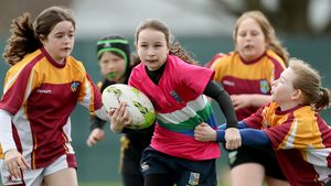 Aviva Girls Mini Rugby Festival, Carton House, Maynooth, Co. Kildare, Sunday, April 15, 2018