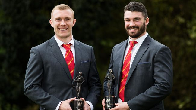 Earls And Arnold Scoop Munster Player Of The Year Awards