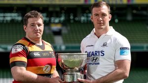 Ulster Bank League Division 1A Final Photocall, Aviva Stadium, Wednesday, May 2, 2018