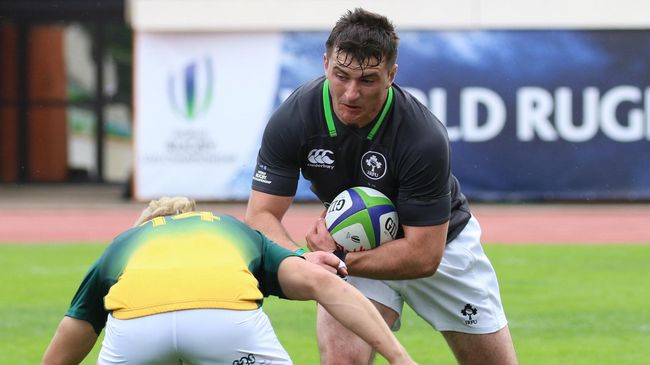 Ireland Under-20 hooker Diarmuid Barron