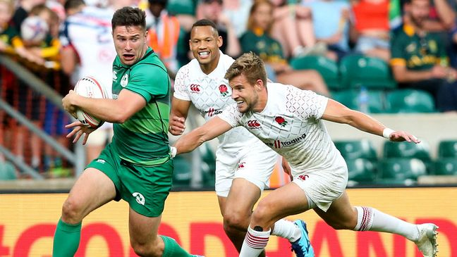 New cap Foster Horan leads an attack for Ireland