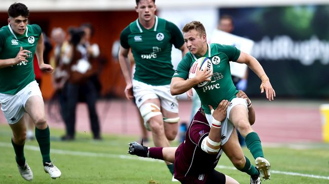 Ireland Under-20 Team Announced For Play-Off Against Japan