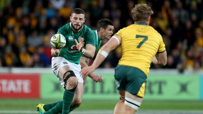 Head-To-Head: Ireland v Australia