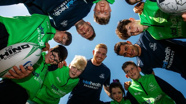 The launch of the Connacht Rugby Summer Camps