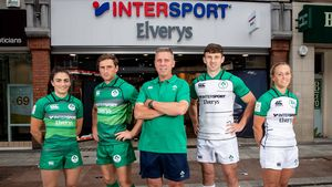 Announcement Of Ireland Rugby World Cup Sevens Squads, Intersport Elverys, Henry Street, Dublin 1, Monday, July 9, 2018