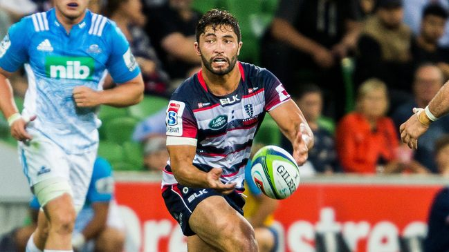 Colby Fainga'a in action for the Melbourne Rebels