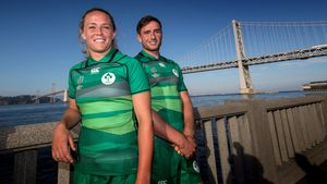 2018 Rugby World Cup Sevens Captains' Photocall & Tournament Launch, San Francisco, USA, Wednesday, July 18-Thursday, July 19, 2018