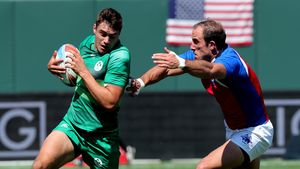Ireland Men - 2018 Rugby World Cup Sevens Day 1, AT&T Park, San Francisco, USA, Friday, July 20, 2018