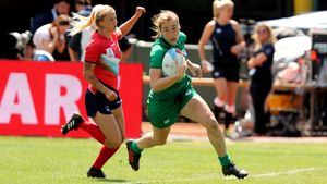 Ireland Women - 2018 Rugby World Cup Sevens Day 2, AT&T Park, San Francisco, USA, Saturday, July 21, 2018