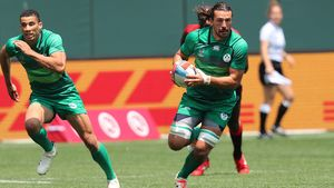 Ireland Men - 2018 Rugby World Cup Sevens Day 2, AT&T Park, San Francisco, USA, Saturday, July 21, 2018