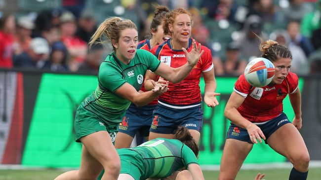 Ireland Women Pipped By Spain But Still Claim Best Ever RWC Sevens Finish Of Sixth