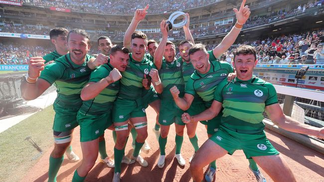 Ireland Men Sign Off In San Francisco With Stirring Challenge Trophy Win