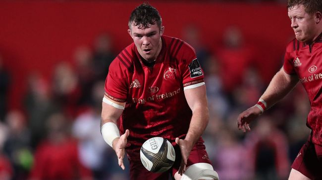 O'Mahony To Captain Strong Munster Side Against Edinburgh