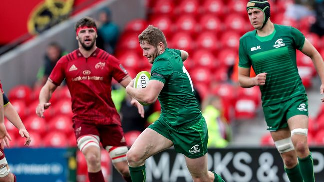 Connacht Eagles and Munster 'A' will both head Stateside in the spring