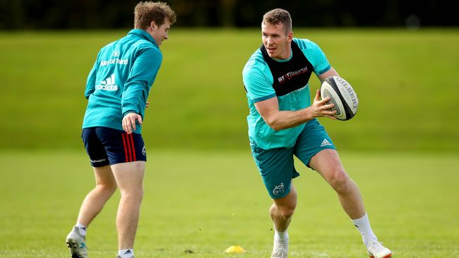 Farrell And Taute Among Munster Players Returning To Full Training