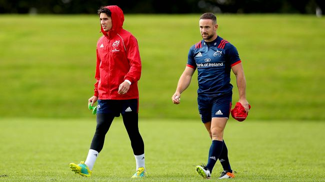 Carbery And Mathewson Continue At Half-Back For Munster