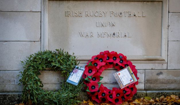 Irish Rugby TV: Clubs Commemorate Armistice Day