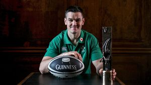 2018 Guinness Rugby Writers Of Ireland Awards, Aviva Stadium, Dublin, Wednesday, November 21, 2018