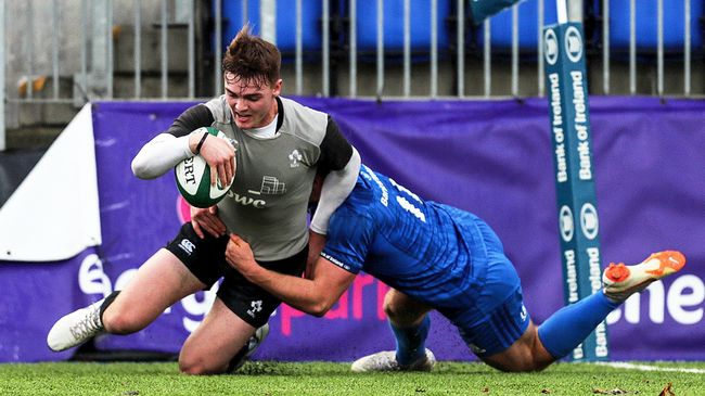 Strong Second Half Sees Ireland U-20s Defeat Leinster Development Side