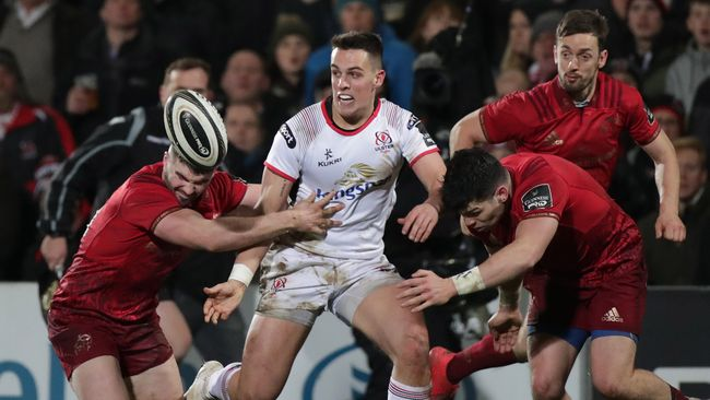 Lowry And Hume Brought Into Ulster Back-Line