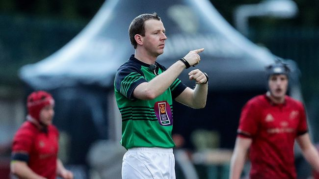 Busy Weekend Of European And AIL Appointments For IRFU Referees