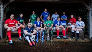 2019 Men's And Women's Six Nations Championships Launch, Hurlingham Club, London, England, Wednesday, January 23, 2019