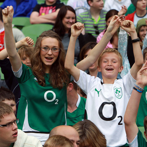 Bring your minis or youth teams to Aviva Stadium