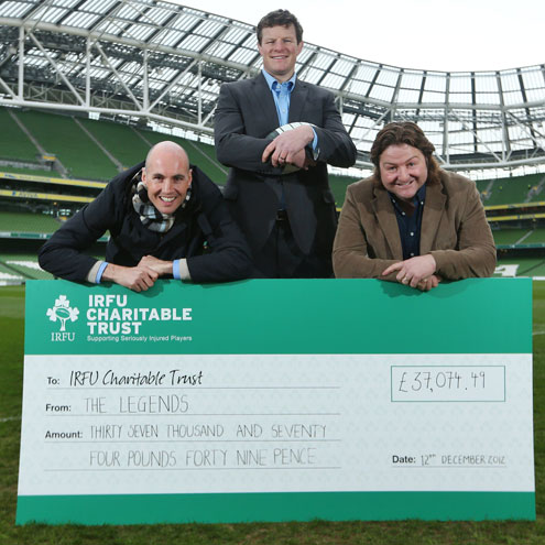 Get your Legends match tickets on Ticketmaster.ie