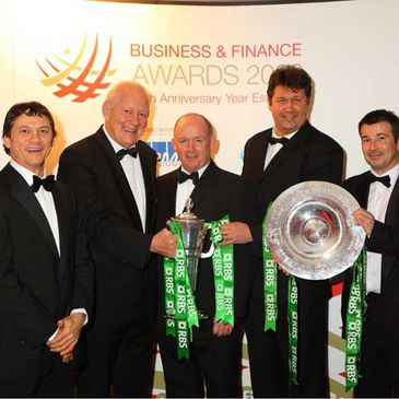 Irish rugby was honoured at the Business & Finance Awards