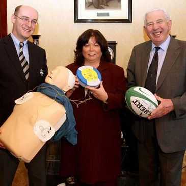 The launch of the IRFU First Aid Programme