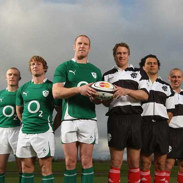 Ireland will take on the Barbarians at Thomond Park