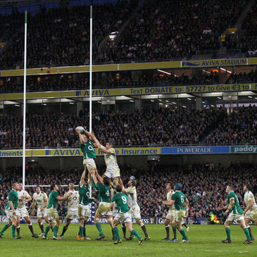 Ireland face England and France in the GUINNESS Summer Series