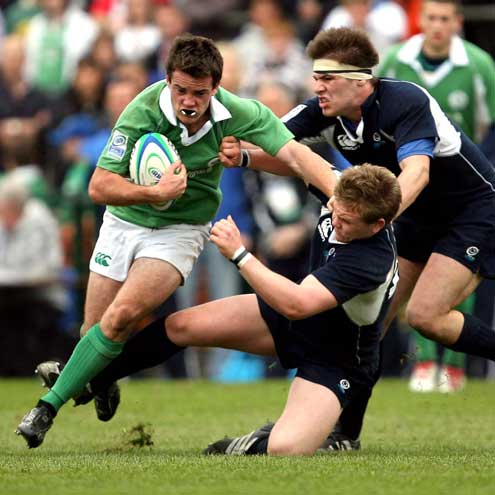 Action from the 2007 IRB Under-19 World Championship