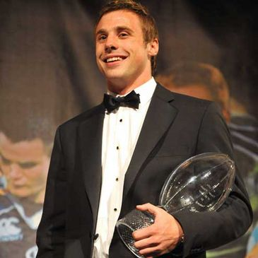 Tommy Bowe was crowned the IRUPA Players' Player of the Year