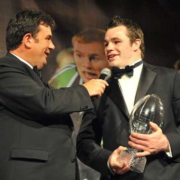 IRUPA Newcomer of the Year Cian Healy talks to Des Cahill