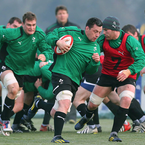 James Coughlan will captain the Ireland Wolfhounds